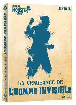 La vengeance de l'homme invisible [Combo Blu-ray + DVD]