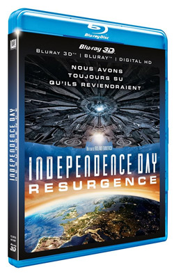 Independence Day : Resurgence [Combo Blu-ray 3D + Blu-ray 2D]