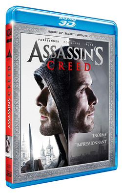 Assassin's Creed- Combo Blu-ray 3D + Blu-ray 2D
