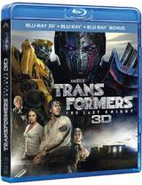 Transformers: The Last Knight [Combo Blu-ray 3D + Blu-ray 2D + Blu-ray bonus]