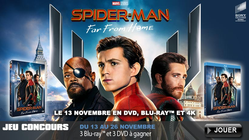 Jeu concours Spider-Man Far From Home