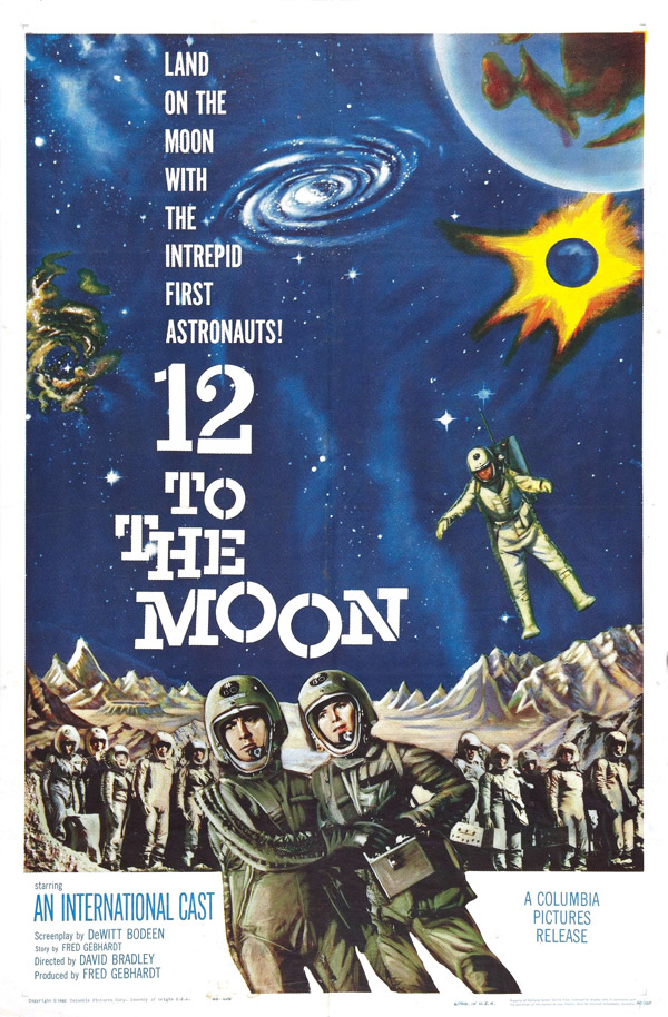 Affiche américaine du film 12 to the Moon