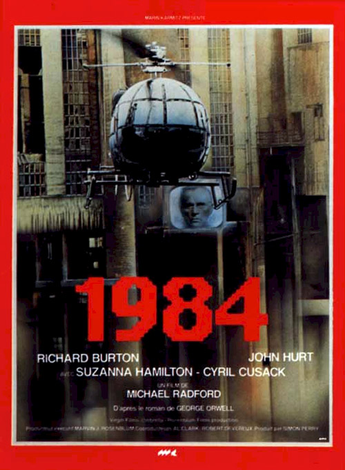 Movie Posters From Nineteen Eighty Four Michael Radford 1984