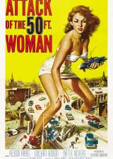 Poster from 'Attack of the 50 Foot Woman' - SciFi-Movies