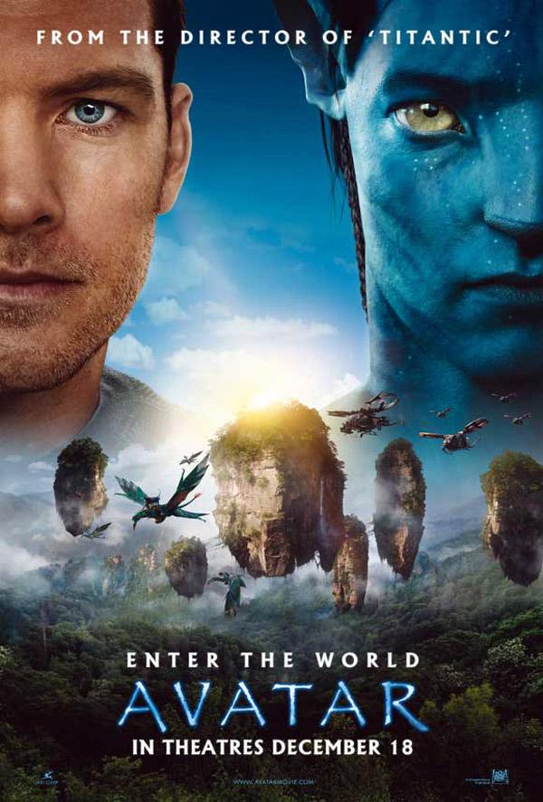 Affiches de cinéma de Avatar de James Cameron (2009) - page 1