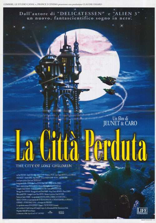 Affiches De Cinema De La Cite Des Enfants Perdus De Marc Caro Jean Pierre Jeunet 1995 Page 1