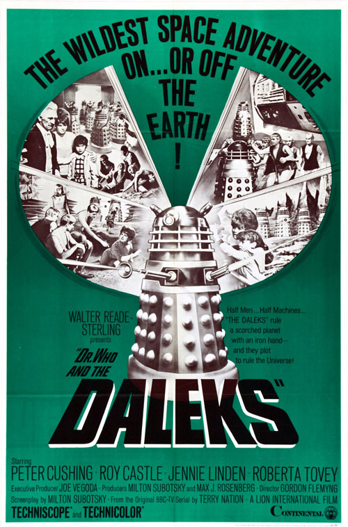 Unknown poster from the movie Dr Who and the Daleks (Dr. Who and the Daleks)