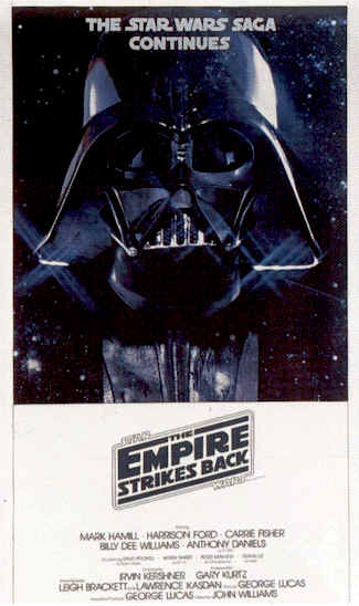 Star Wars Episode V The Empire Strikes Back 1980 Movie Poster 2 Scifi Movies