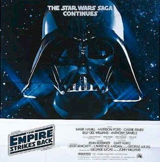 Star Wars Episode V The Empire Strikes Back 1980 Movie Poster 5 Scifi Movies