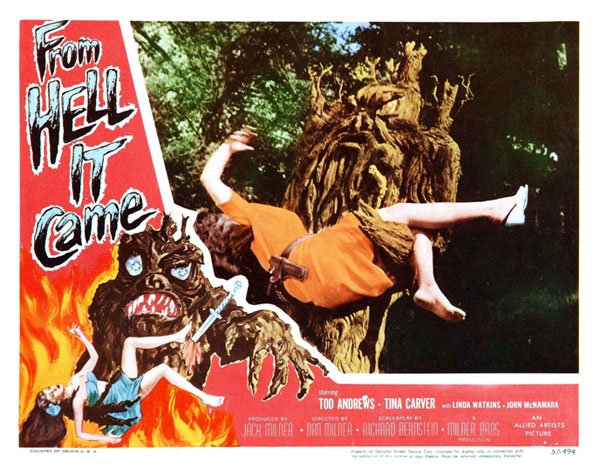 affiche cin233ma n1763 de from hell it came 1957 scifimovies
