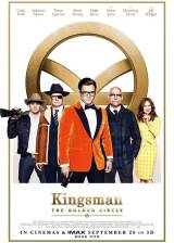 Movie poster from Kingsman: The Golden Circle, in theaters on September 22, 2017