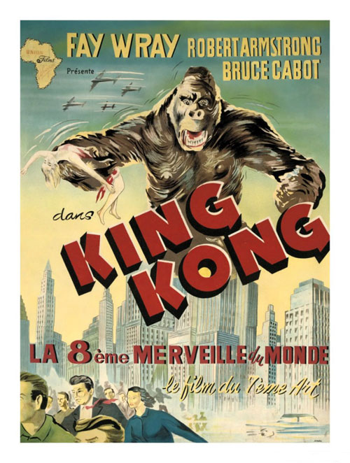 King Kong 1933 Movie Poster 27 Scifi Movies