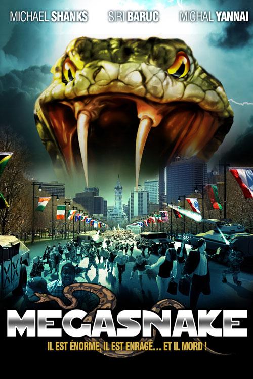 Affiche Cin 233 Ma N 176 2 De Mega Snake 2007 Scifi Movies