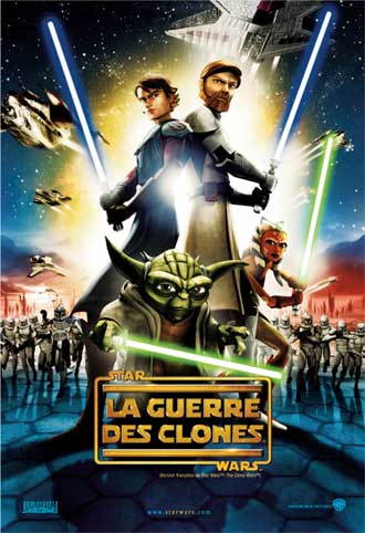 Affiche française du film Star Wars : The Clone Wars (Star Wars: The Clone Wars)