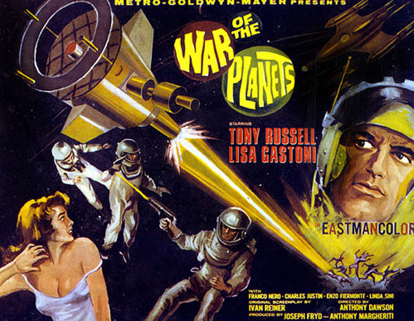 affiche cin u00e9ma n u00b06 de war of the planets  1966