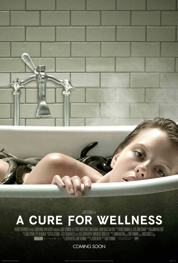 Us poster from the movie A Cure for Wellness
