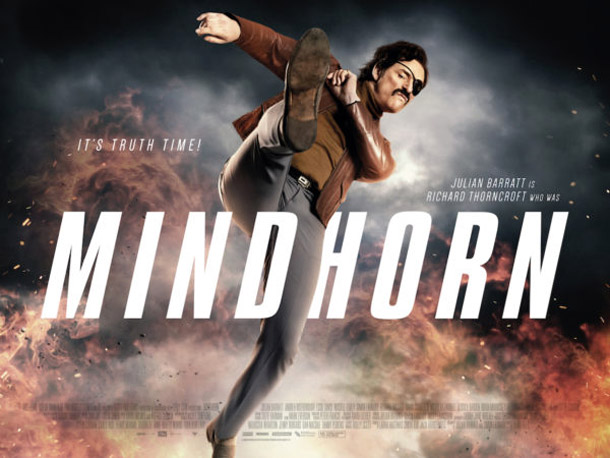 British poster from the movie Mindhorn