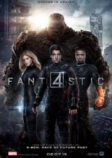 Movie poster from The Fantastic Four, in theaters on August 07, 2015