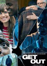 Movie poster from Get Out, in theaters on February 24, 2017