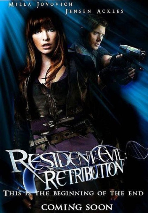 Movie Posters From Resident Evil Retribution Paul W S Anderson