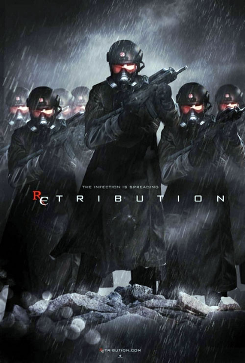 Resident Evil Retribution 2012 Movie Poster 25 Scifi Movies