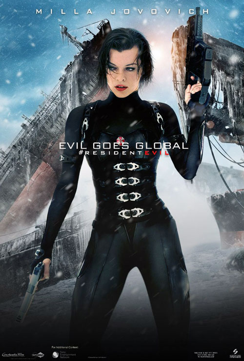 Resident Evil Retribution 2012 Movie Poster 38 Scifi Movies
