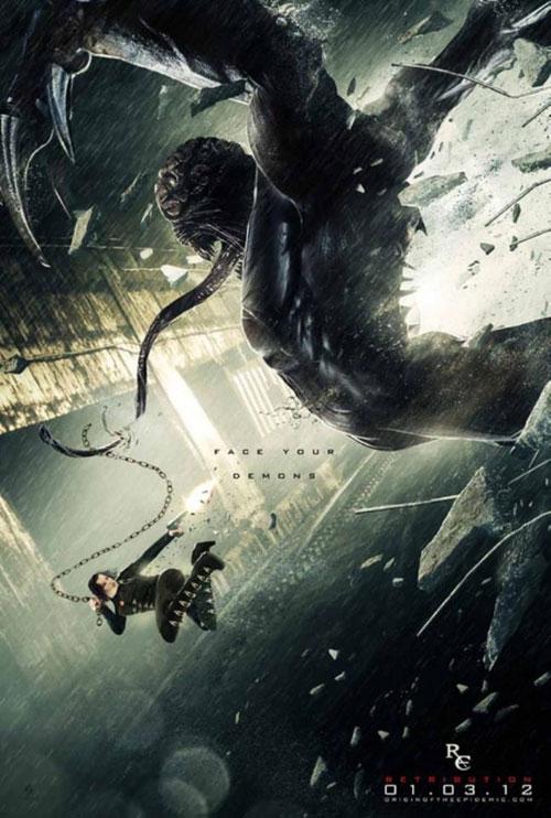 Resident Evil Retribution 2012 Movie Poster 4 Scifi Movies