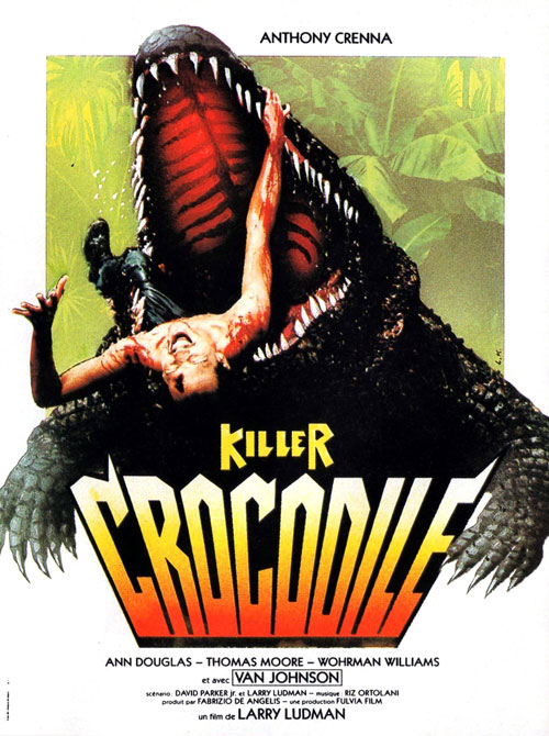 Affiche française du film Killer Crocodile