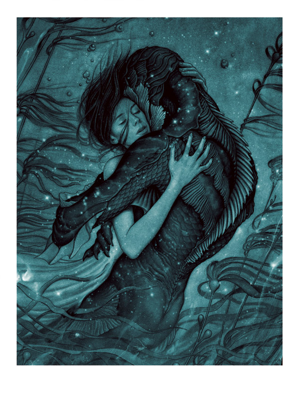 Affiche internationale du film The Shape of Water