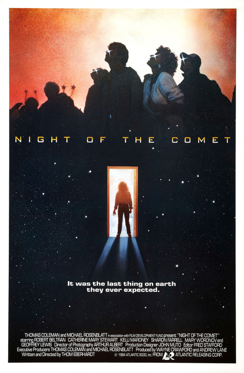 Us poster from the movie Night of the Comet
