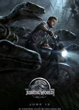 Movie poster from Jurassic World, in theaters on June 12, 2015