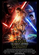 Movie poster from Star Wars: Episode VII - The Force Awakens, in theaters on December 18, 2015