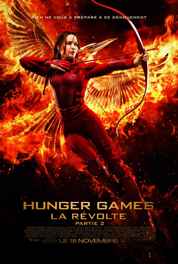 Affiche française du film Hunger Games : la révolte 2ème partie (The Hunger Games: Mockingjay - Part 2)