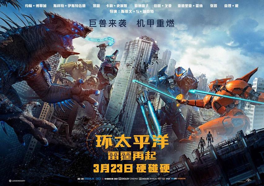 Pacific Rim Uprising 2018 Movie Poster 22 Scifi Movies