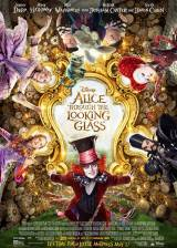 Movie poster from Alice Through the Looking Glass, in theaters on May 27, 2016
