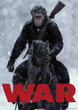 Poster from 'War of the Planet of the Apes'