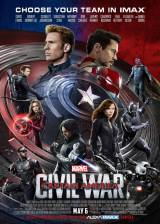 Movie poster from Captain America: Civil War, in theaters on May 06, 2016