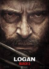 Movie poster from Logan, in theaters on March 03, 2017