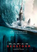 Movie poster from Geostorm, in theaters on October 20, 2017