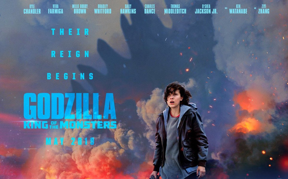 Image result for Godzilla II : Roi des Monstres 2019
