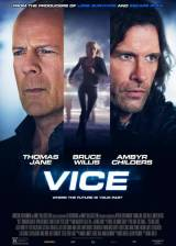 Movie poster from Vice, in theaters on January 16, 2015