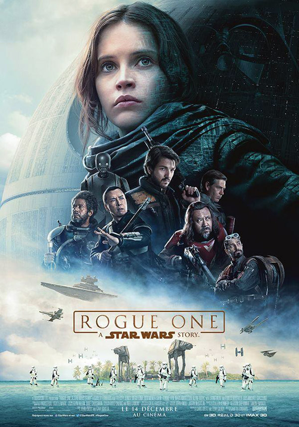 Affiche française du film Rogue One: A Star Wars Story