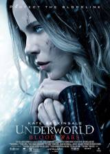 Movie poster from Underworld Blood Wars, in theaters on January 06, 2017