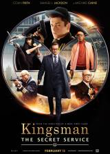 Movie poster from Kingsman: The Secret Service, in theaters on February 13, 2015