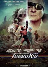Movie poster from Turbo Kid, in theaters on August 28, 2015