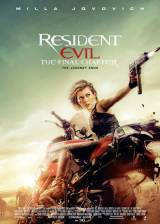Movie poster from Resident Evil: The Final Chapter, in theaters on January 27, 2017