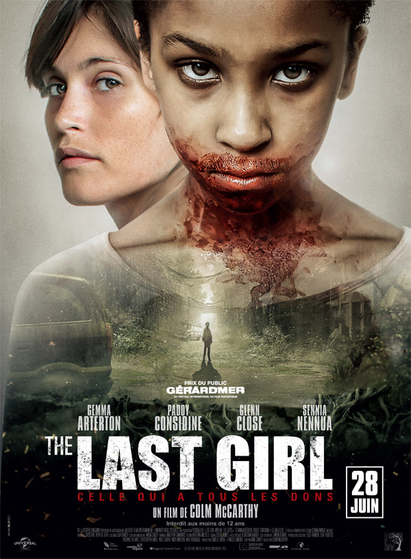 Affiche française du film The Last Girl (The Girl with All the Gifts)